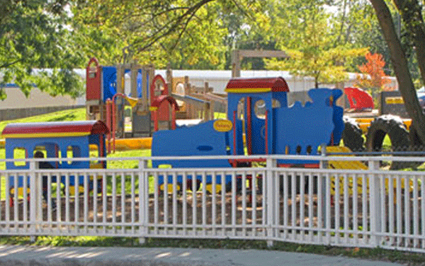 The History of Liberty Community Childcare in Delaware county: image of a playground